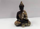 Black/Gold Meditating Buddha