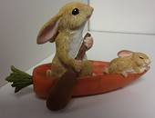Bunnies in a Boat