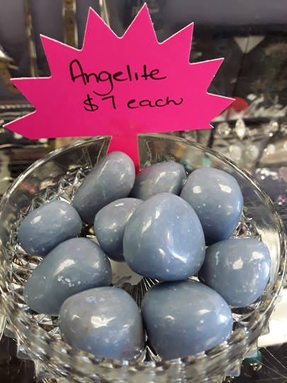 Angelite Tumbled Piece