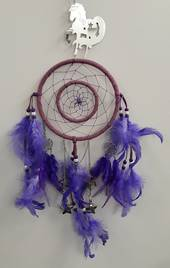 Purple Unicorn Dreamcatcher (PUSD)