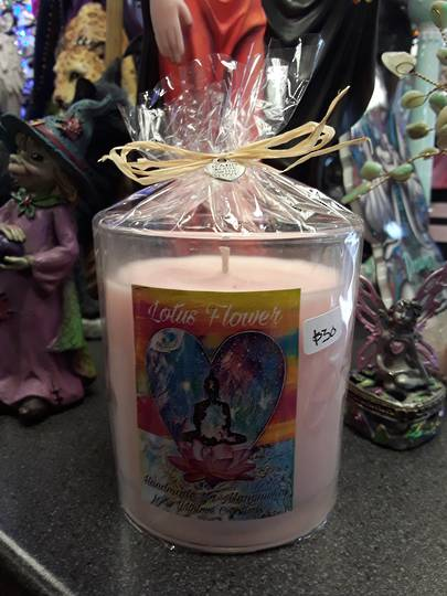 Lotus flower Soy Candle