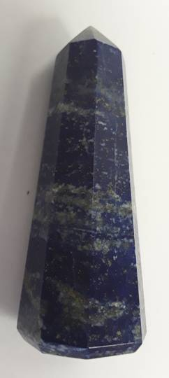 Lapis Crystal Point (f206)