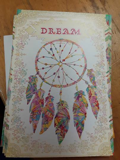 Dreamcatcher Birthday Card and Envelope