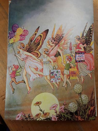 Fairies Birthday Card and Envelope