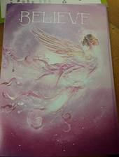 Believe Angel Card and Envelope