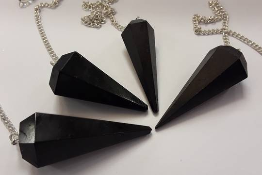 Basic Black Tourmaline Pendulum