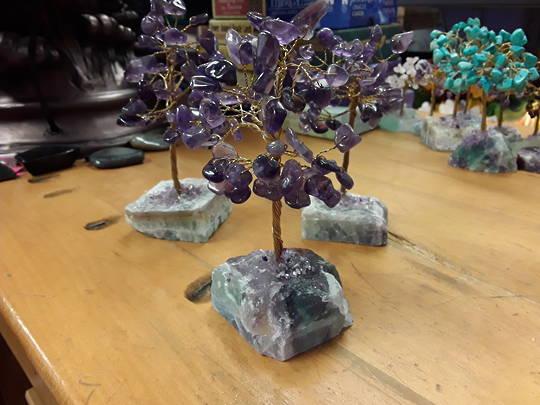 Amethyst Tree on a Fluorite Base 15cms