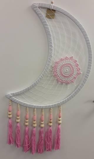 Pink Moon Dreamcatcher