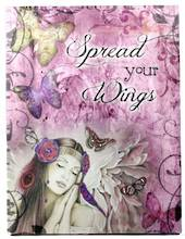 Spread Your Wings Canvas Plaque