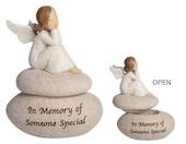 Adoring Angel Memory Box