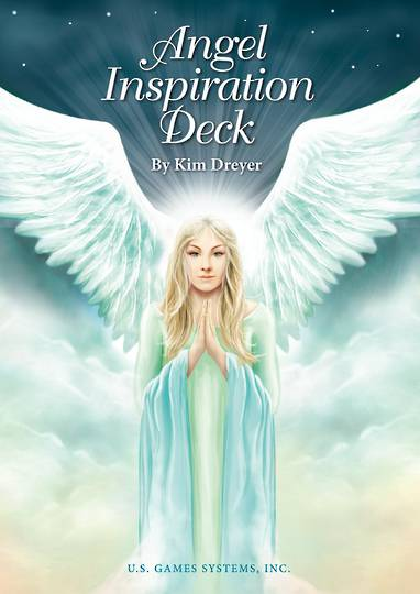 Angel Inspiration Deck Cards by Kim Dryer
