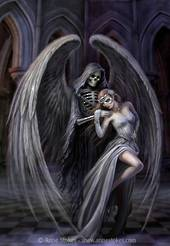 3D Anne Stokes Dance With Death