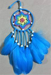 Small Dreamcatcher Blue 11cm