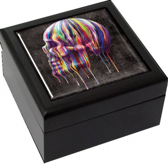 Dripping Skull Small Tile Box was $35 now $20