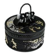 Black Seduction Trinket Box was $25 now $15
