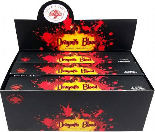 Green Tree Dragons Blood Incense 15gm