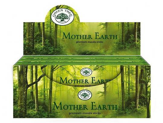 Green Tree Mother Earth Incense 15gm