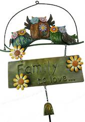 Song of Spring Owl Family Sign was $45 now $25