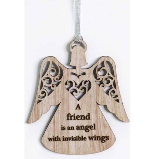 Hanging Angel Ornament Friend