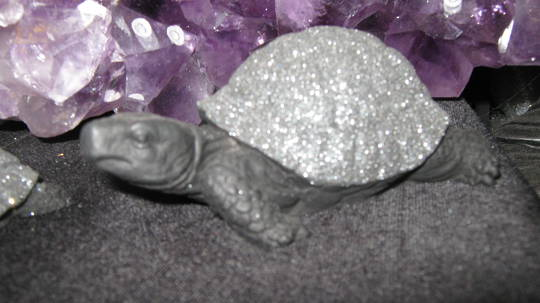 Croatian Volcanic Rock large Turtle