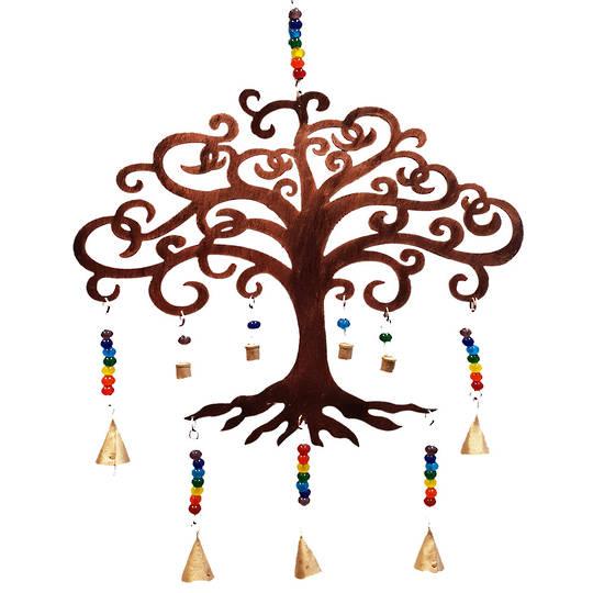Tree of Life Chakra Metal Bells