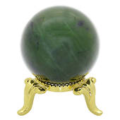 Jade Ball with Stand