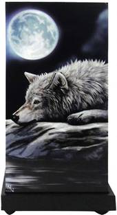 Quiet Reflection Wolf Lamp was $140 now $70