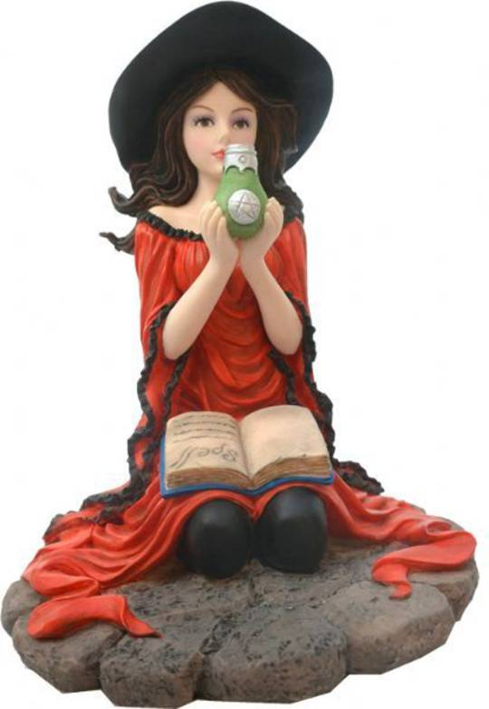 Red Witch Kneeling was $70 now $40