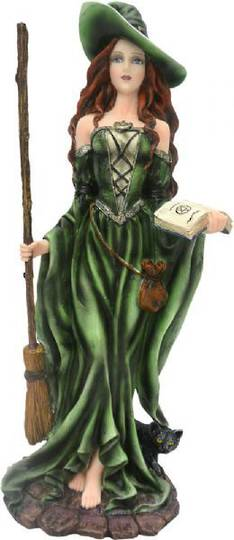 Green Witch Standing