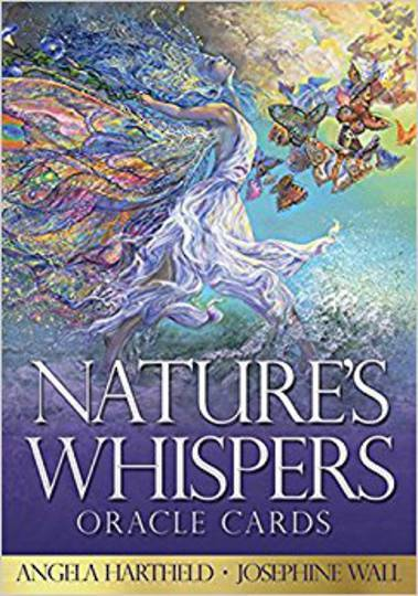 Nature's Whispers Oracle Cards by  Angela Hartfield - Illustrated by Josephine Wall