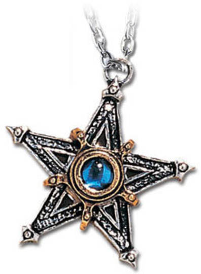Mediaeval Pentacle Necklace