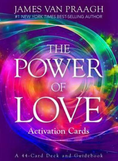 Power of Love Activation Oracle Cards by James Van Praagh