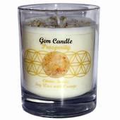 Gemstone Candle – Prosperity Citrine