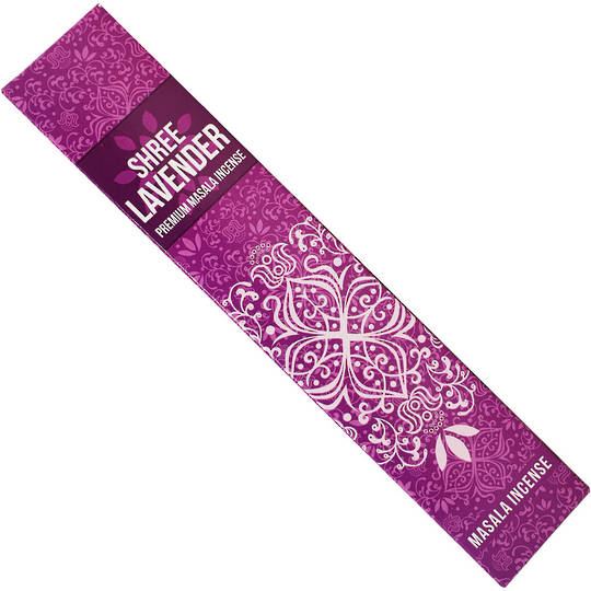 Shree Lavender Incense 15gms