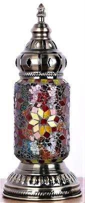 Turkish Mosaic Lamp Ottoman Style