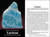 larimar Crystal/Gem Essential Oil