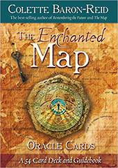 The Enchanted Map Oracle Cards by Colette Baron Reid