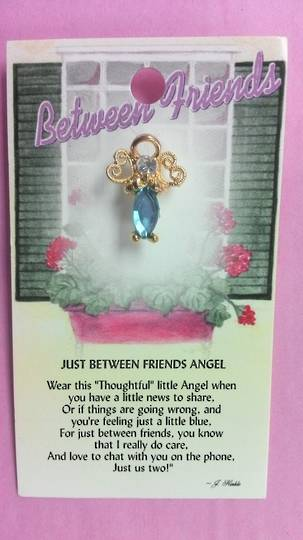 Just Between Friends Angel Pin