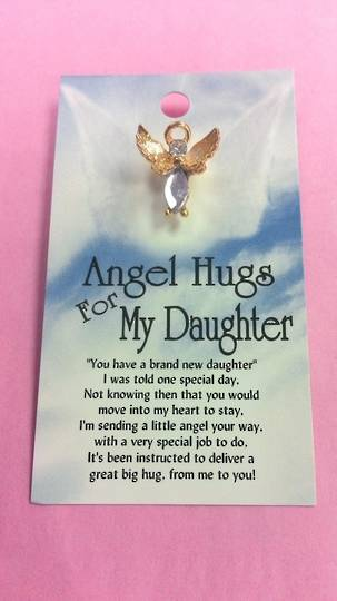 Angel Hugs for My Daughter