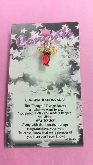 Congratulations Angel Pin