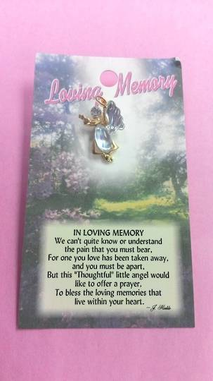 Loving Memories Angel Pin