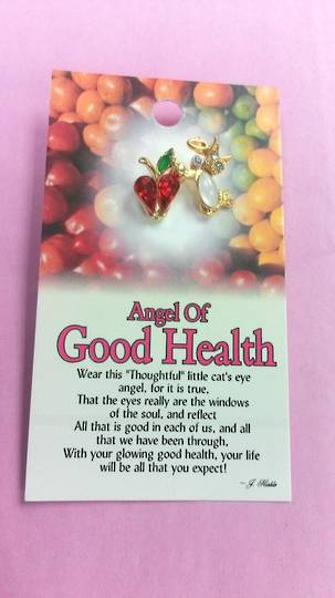 Angel Of Good Health Angel Pin