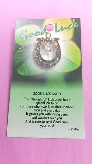 Good Luck Angel Pin