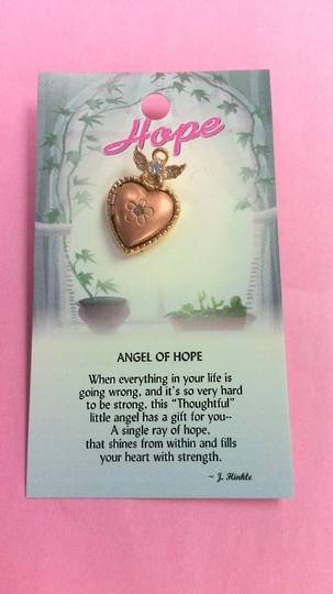 Angel of Hope Angel Pin