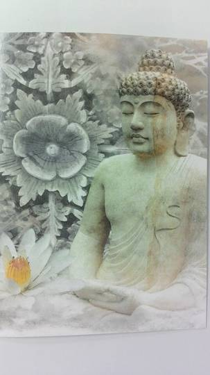 Buddha Statue Card and Envelope