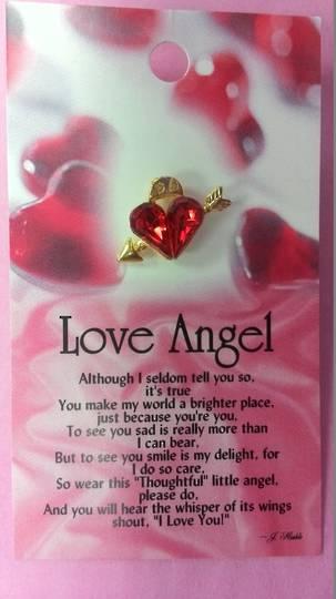 Love Angel Pin