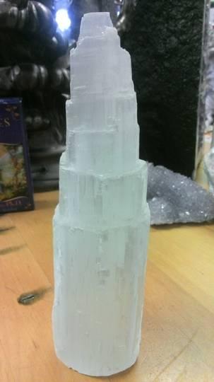 Large Selenite Tower