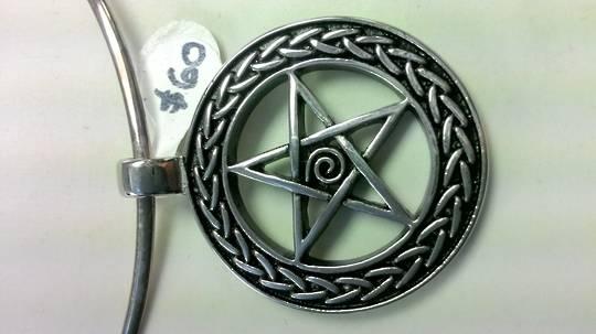Steel Fancy Pentagram
