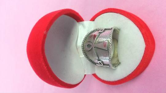 Ankh Band Ring