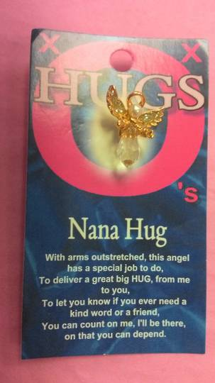 Nana Hug Angel Brooch